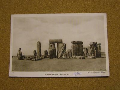 1900 Photo Postcard Stonehenge,Wiltshire. • 2£