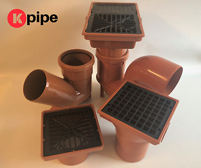 £4.43 • Buy Underground Drainage 110mm Fittings (Bends, Traps, Inspection Chambers)