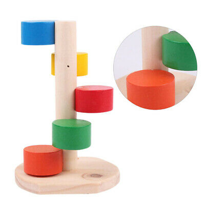 Pet Wooden Playing Climbing Ladder Funny Molar Toys Pet Supplies For Hamster • 5.16£