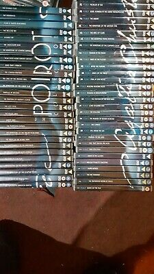 £39.99 • Buy Poirot Complete Dvd Collection See Pics No Post Pick Up Or Local Delivery BL81ER
