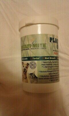 Plaque Out Dogs & Cats Bad Breath & Tartar Removal 100g Powder Liverpool / Crewe • 4.99£