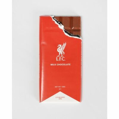 Liverpool FC Milk Chocolate Bar Official LFC Product 100g Bar • 2.49£
