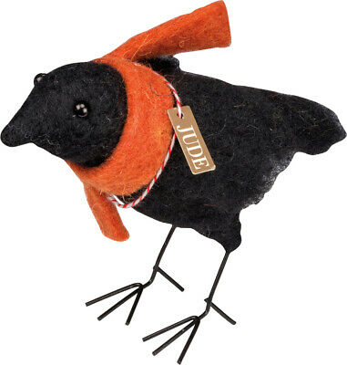 $ CDN10.83 • Buy PBK Fall Halloween Decor - Felted Jude Crow Bird