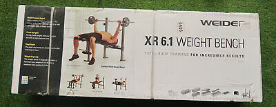 Weider WEBE60610 6.1 Multi-Position Weight Bench With Leg Developer And Exercise • 94.06£