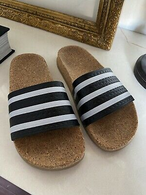 AU50 • Buy ADIDAS Cork Slides - Brand New!