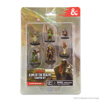 AU19.36 • Buy Dungeons & Dragons: Icons Of The Realms Miniatures Starter Set #1 WZK72778