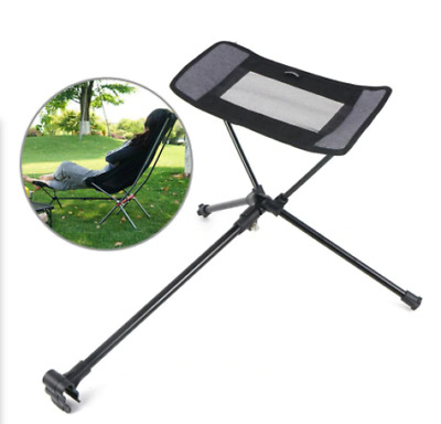Portable Collapsible Footstool  Camping Beach Fishing Folding Outdoor Foot Stool • 22.33£