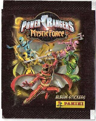 £10.40 • Buy Power Rangers Mystic Force Lot 40 Packets Stickers Panini