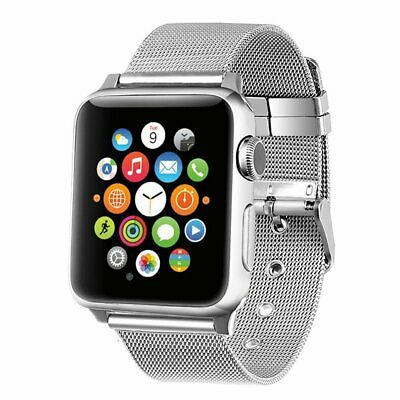 AU15.99 • Buy For Apple Watch SE 5 4 3 2 1 6 38 40 44mm Stainless Steel Band Strap IWatch