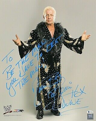 AU400.76 • Buy Wwe Ric Flair Hand Signed Autographed 16x20 Photo With Proof And Beckett Coa 1