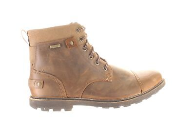 Rockport Mens Rugged Bucks Ii Brown Ankle Boots Size 11 (Wide) (1717971) • 58.53£