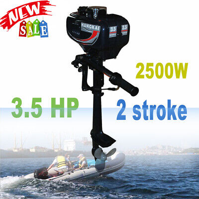 AU326 • Buy Boat Engine Motor 2 Stroke 3.5HP Fishing Outboard Engine CDI Water Cooling