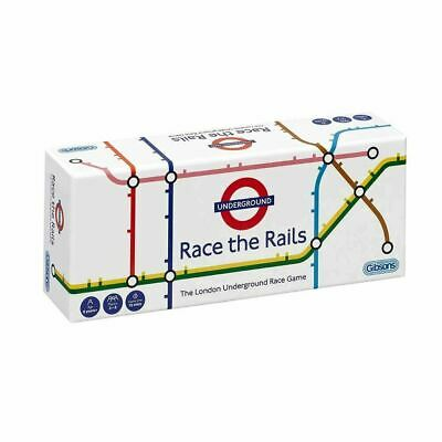 £16.99 • Buy Gibsons Games London Underground Race The Rails Family Game