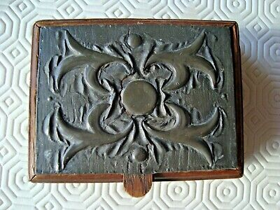 £14.99 • Buy Nice Little Pewter And Wood Box - Arts And Crafts
