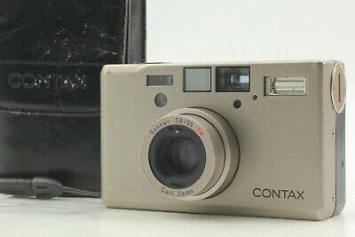 $ CDN2198.95 • Buy [Exc+5 In Soft Case] Contax T3 Double Teeth Point & Shoot Film Camera JAPAN
