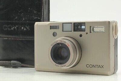 $ CDN2341.47 • Buy [Exc+5 In Soft Case] Contax T3 Double Teeth Point & Shoot Film Camera JAPAN