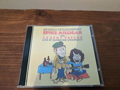 Spike Milligan With Jeremy Taylor Live At Cambridge University CD • 9.99£