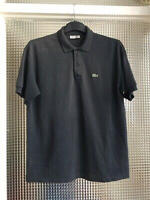 Mens Lacoste Polo T Shirt Size Large Grey  • 8.99£