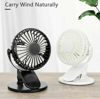 AU22.99 • Buy 360° Cordless Rechargeable Portable Cooling Clip Fan 💖💖💖Cool Summer 💖💖💖