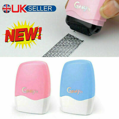 Identity Theft Protection Roller Stamp Privacy Confidential Data Guard Your ID • 4.99£
