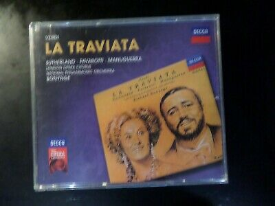 Cd Double Album - Decca - Sutherland / Pavarotti - La Traviata • 5£