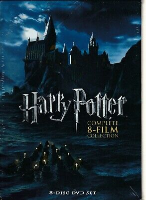 $ CDN21.68 • Buy Harry Potter: The Complete 8-Film Collection (DVD Box Set) NEW (Shelf 37-4 GS)