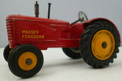 AU53.39 • Buy Dinky Toys 300 Massey Ferguson Tractor Rubber Tyres No Driver Or Seat Playworn