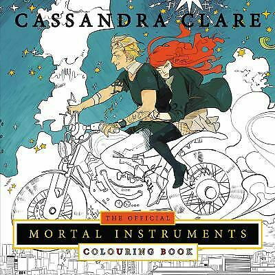 Official Mortal Instruments Colouring Book By Cassandra Clare • 7.75£