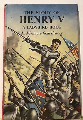 VINTAGE LADYBIRD BOOK -1962  The Story Of Henry V Series 561 Price 2'6  • 4.95£