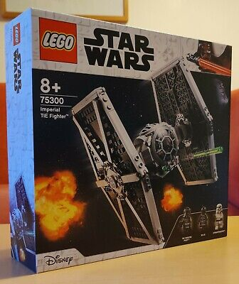 LEGO Star Wars Imperial TIE Fighter Set - 75300 New & Sealed • 23£