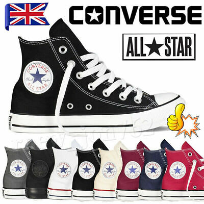 $ CDN36.80 • Buy Converse All Star Chuck Taylor Mens Womens High Hi Tops Trainers Shoes Sneakers