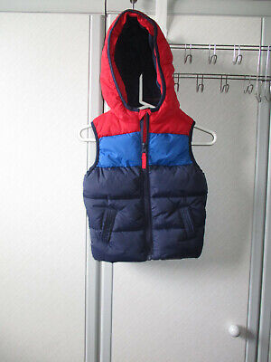 Debenhams Blue Zoo Gilet Jacket Size 12-18 Months (Worn Once) • 4.95£