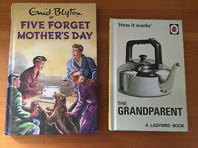 Mothers Day / Grandparent Adult Spoof Books X2  Ladybird / Famous Five, BOTH NEW • 4.99£
