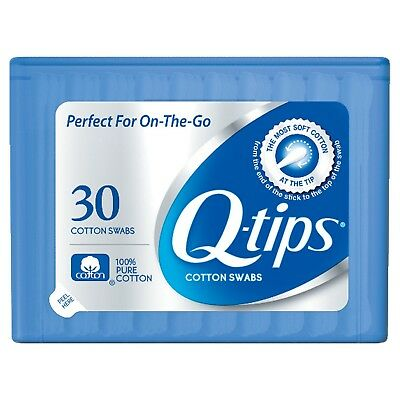 $ CDN2.46 • Buy New Q-tips Purse Pack Cotton Swabs 30 Ct Travel Size