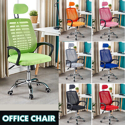 AU68 • Buy Adjustable Ergonomic Mesh Office Chair Gaming Computer Desk Chairs Study Home