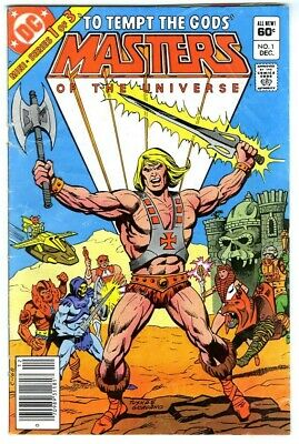 $2.25 • Buy Masters Of The Universe #1 (1982) G/VG DC Comics