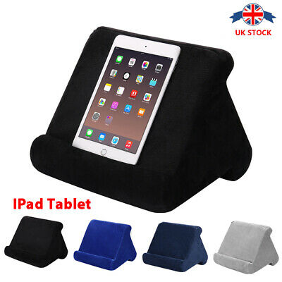 Multi-Angle Soft Pillow Lap Stand IPad Tablet Phone Cushion Laptop Holder UK • 9.99£