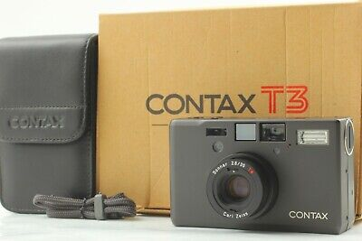 $ CDN3428.62 • Buy [Mint In Box] CONTAX T3 D T3D Double Teeth Point & Shoot Film Camera JAPAN 2222
