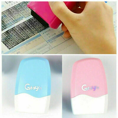 Theft Protection Guard Your Data Identity Privacy ID Security Stamp Roller • 4.69£