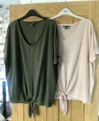 Two Tie Front Tops Size 14-16 From Primark • 5.50£