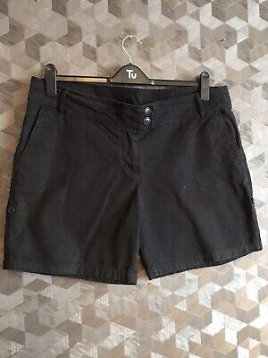 Ladies Black Shorts Size 16 Dorothy Perkins • 2.20£