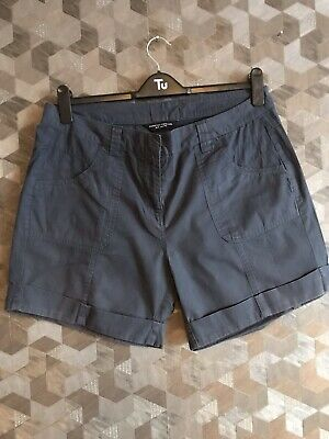 Ladies Navy Shorts Size 16 Dorothy Perkins • 2£