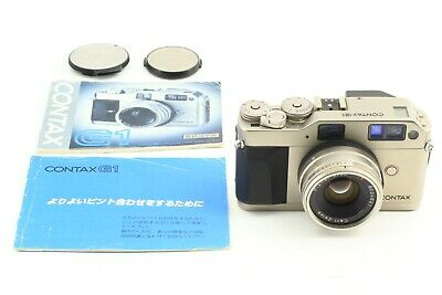 $ CDN873.41 • Buy [N Mint] Contax G1 Green Lavel Film Camera Planar 45mm F/2 Lens From Japan A414