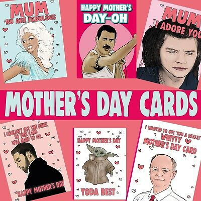 Funny Mother's Day Greeting Cards And Gifts Nanny Mum Stepmum (Buy 2 Get 1 Free) • 2.99£