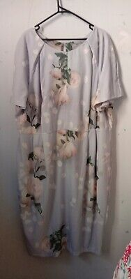 AU26 • Buy Asos Curve Size 20 Floral Fitted Dress