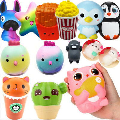 AU10.79 • Buy Big Jumbo Slow Rising Scented Squeeze Toy Reliever Stress Present Toys