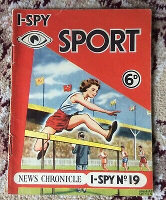 1950's News Chronicle I-spy Sport Book 6d Lovely Condition • 1.95£