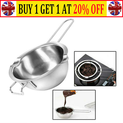 Stainless Steel Wax Melting Pot Double Boiler For DIY Wedding Scented Candle CW • 4.99£