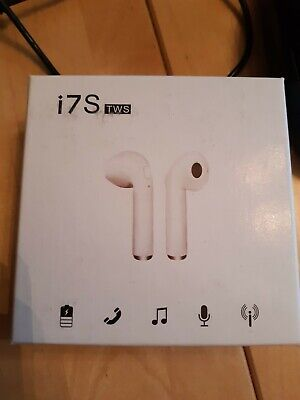 Wireless Earphones/earbuds/ White/for Iphone/for Android • 6£