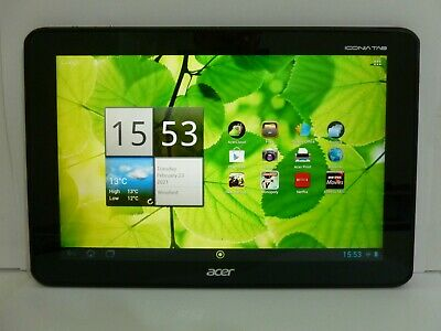 Acer Iconia Tab A700 32GB 10.1in Black Touch Screen Tablet • 80£